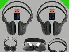 2 Wireless DVD Headsets for Audiovox Vehicles : New Headphones Premium Sound