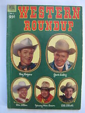 Western Roundup #2 (1953, Dell) [VG+ 4.5]