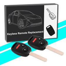2 for 2005 2006 2007 2008 2009 2010 Honda Odyssey Keyless Car Remote Key Fob