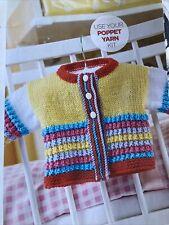 Bryton Baby Cardigan Knitting Pattern