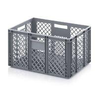 Eurobehälter 60x40x32 durchbrochen*Stapelbehälter*Lagerbox*Stapelbox*600x400x320