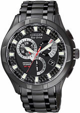 Citizen Eco-Drive Men's BL8097-52E Calibre 8700 Perpetual Black Ion Watch New