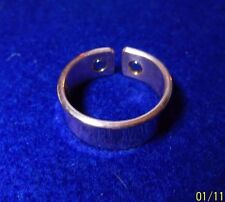 Copper magnetic ring for men and women size 7 adjustable