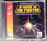 Star Wars X-Wing vs. Tie Fighter CD-ROM (Windows PC 1997) 2-Discs