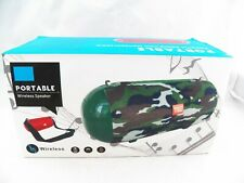 T&G Portable Bluetooth Speaker Wireless Rechargeable TG-503 Blue Brand New