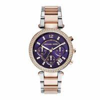 Michael Kors Parker Two-Tone Stainless Steel Bracelet Women's Watch MK6108