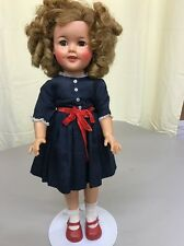 Ideal Shirley Temple Doll St 17 1950's All Original Rosy Cheeks