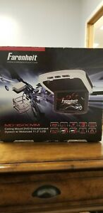 """NEW Farenheit MD-1150CCM Ceiling Mount DVD Entertainment System w/ 11.2"""" LCD"""