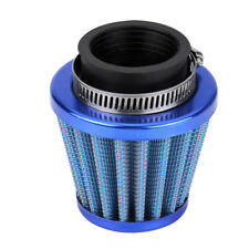 38mm Blue Air Filter Intake Induction Kit For Motorcycle ATV Quad Dirt Pit Bike