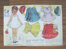 1950's MISS SUNBEAM Paper doll Set #2 REPRO---plus Bonus set
