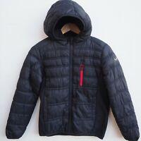 Fab Genuine MICHAEL KORS Boy's Black Hooded Puffa Coat / Jacket age 10-12 yrs
