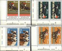 DDR 1969DV-1972DV mit Druckvermerk (kompl.Ausg.) postfrisch 1974 Internationaler