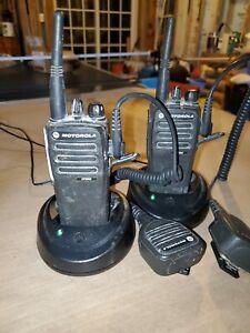 Motorola CP200D VHF Radio-Only - Black - Pair (2)