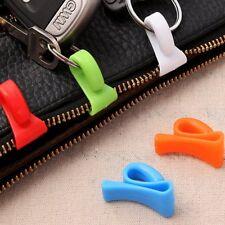 3X2 pcs mini built-in bag clip prevention lost key hook holder storage clips