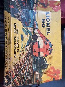 Vintage 1959 Lionel HO Train Set #5717 Southern Pacific Railroad Train Set Boxed