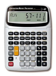 Calculated Industries 44080 Construction Master Pro-Desktop Advanced Math with