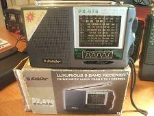 Kchibo PX 978 - TRANSISTOR RADIO VINTAGE 9 Band receiver
