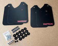[SR] 02-07 Mud Flaps Set BLACK w/ Hardware Kit & Custom Vinyl B