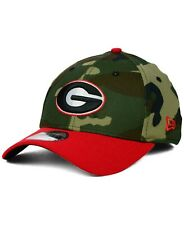 Georgia Bulldogs New Era 39Thirty Woodland Camo Flex Fit Cap