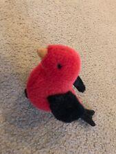 Vintage Gund wingtips 1989 cardinal bird plush toy stuffed animal