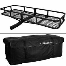 "Angled Shank Cargo Carrier 60"" x 24"" x 6"" W/ Cargo Bag"