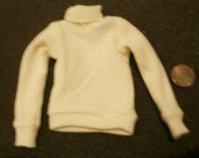 Alert Line RAF pilot white polo neck jumper 1/6th scale toy accessory