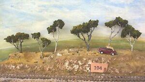 AUSTRALIAN MODEL GUM TREES  HO  OO  Lot 104