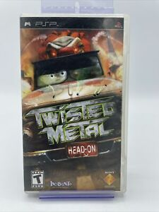Twisted Metal: Head-On (Sony PSP, 2005) Complete With Manual & Case