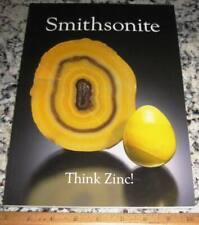 extraLapis English No. 13 Smithsonite Think Zinc! 2010 Tsumeb Kelly Broken Hill