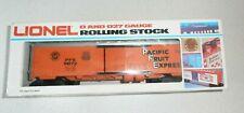 LIONEL 6-9872 PACIFIC FRUIT EXPRESS REEFER BOX CAR, NIB, 1977-79