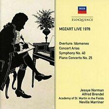 MOZART LIVE 1978 2CD NEW  Jessye Norman Alfred Brendel Decca Eloquence