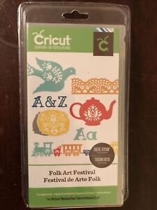 Cricut Cartridge - FOLK ART FESTIVAL - BRAND NEW! Never Opened NOT LINKED