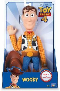 "Disney Official Licenced Toy Story 16"" Sheriff Woody Toy Rag Doll Action Figure"