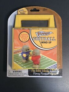 Fumble Football - Wind Up Game by Tomy Classics - New / Sealed