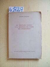 G. CASSANDRO - TRATTATO INEDITO E LA DOTTRINA DEI CAMBI NEL CINQUECENTO - 1962