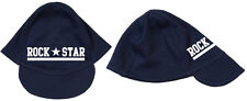 Rock Star Baby Soft Cap Bio Cotone Navy Berretto baby
