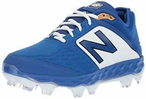 New Balance Men's 3000 V4 TPU Molded Baseball Shoe, Royal/White, Size 12.0 BdZx
