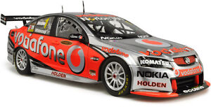 2010 Jamie Whincup Team Vodafone VE Commodore 1:18 Classic Carlectables