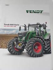 FENDT 800 VARIO Traktoren Prospekt 11/13 ( Fendt 108 )
