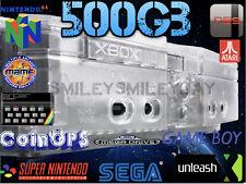 Entièrement Chargé 500 Go puce Original Crystal Console XBOX Upgraded region free