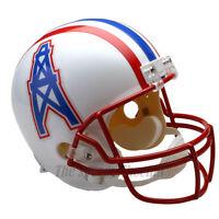 HOUSTON OILERS 81-96 THROWBACK NFL FULL SIZE REPLICA FOOTBALL HELMET
