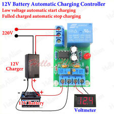 12V Battery Automatic Charging Controller Low Voltage Intelligent Charger Module