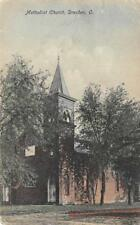 Methodist Church, Dresden, Ohio 1909 Vintage Hand-Colored Postcard