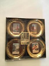 Ernest Sohn Creations Vintage Set of Four European Themed Dishes