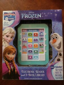 Me Reader: Disney Frozen electronic reader and 8 book library