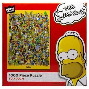 The Simpsons - Extended Cast 1000-Piece Puzzle