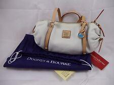 DOONEY & BOURKE Emma Roberts White Leather Purse Handbag HD285 WH J7795822