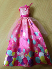 Barbie Doll Birthday Party Balloon Tulle Pink Gown Dress Clothes Outfit