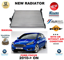 FOR FORD FOCUS III RADIATOR 2010->ON 1.6 ECOBOOST FLEXIFUEL 2.0 TDCi MANUAL