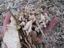 SM FR Bag (2/3+ Gallons) Colorado Aspen Smoking/Garden Wood Chips/Mulch. 2+ LBS
